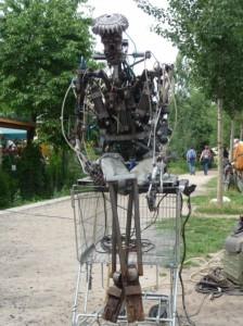 robot-mauerpark-berlin