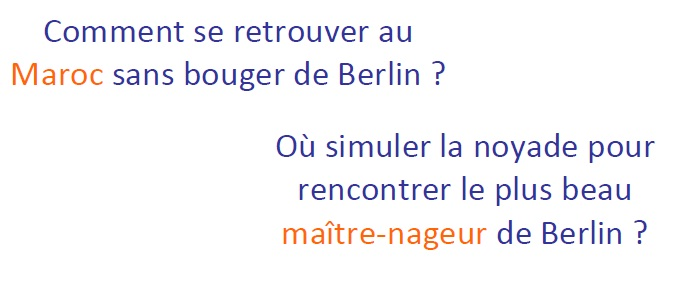 Questions sur Berlin