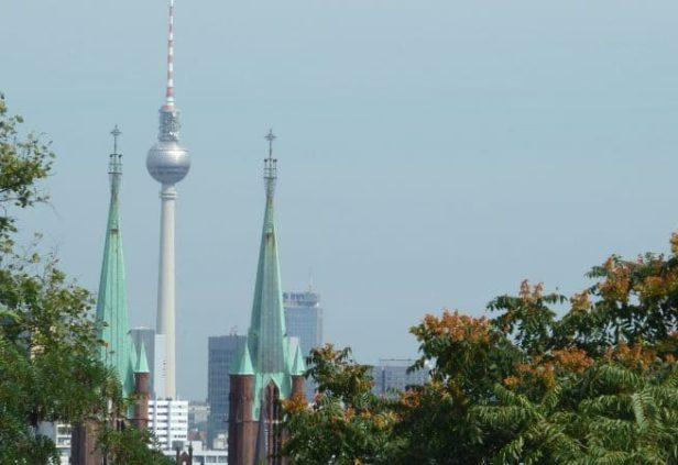 Les parcs à Belvédère à Berlin