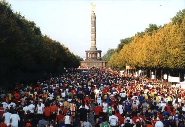 Le grand marathon de Berlin