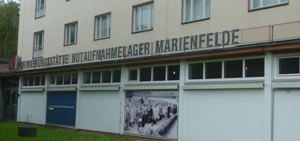 Musée Marienfeld : l'ancien centre d'accueil des évadés de RDA