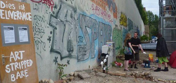 L'expérience Délivrance de trois artistes à Berlin