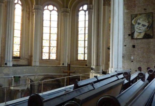 La Zionskirche abandonnée à Berlin