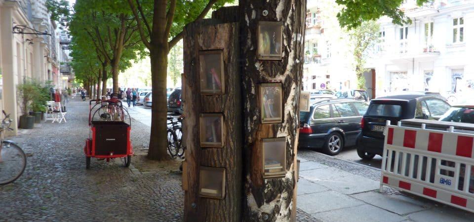 Une bibliothèque dans un arbre à Berlin