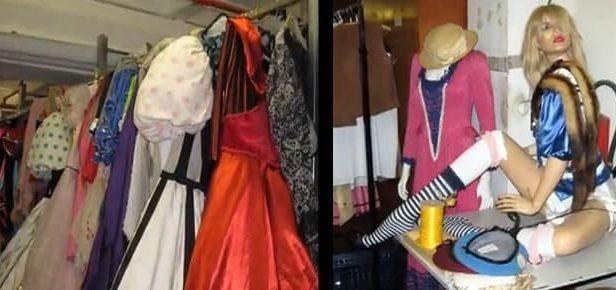 Un entrepôt à Berlin réunit des vêtements de toutes les époques