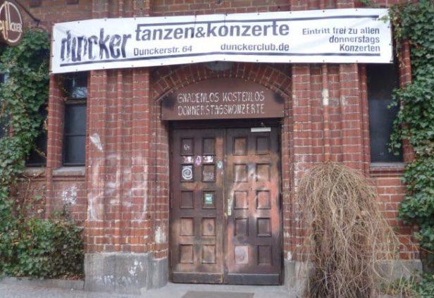 Le Duncker Club le plus vieux du quartier de Prenzlauer Berg à Berlin