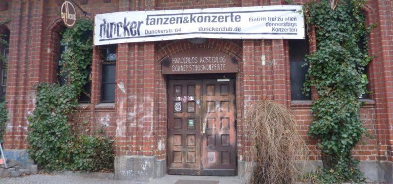 Le plus vieux club de Prenzlauerberg ?