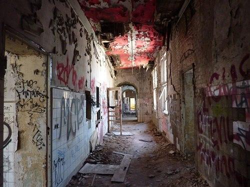couloir hôpital pour enfants de Weissensee