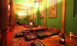 Le salon de thé Tadshikische à Berlin