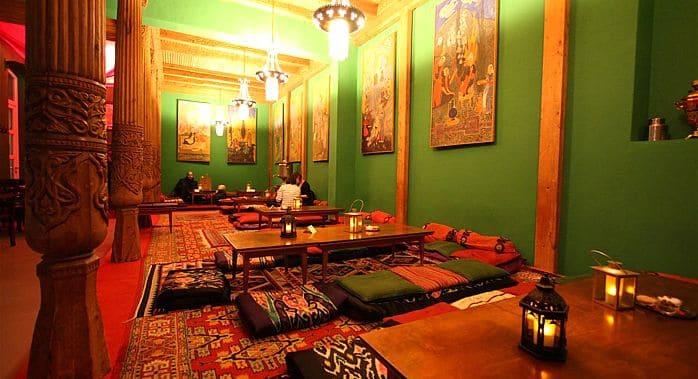 Une pause au Tadschikische Teestube