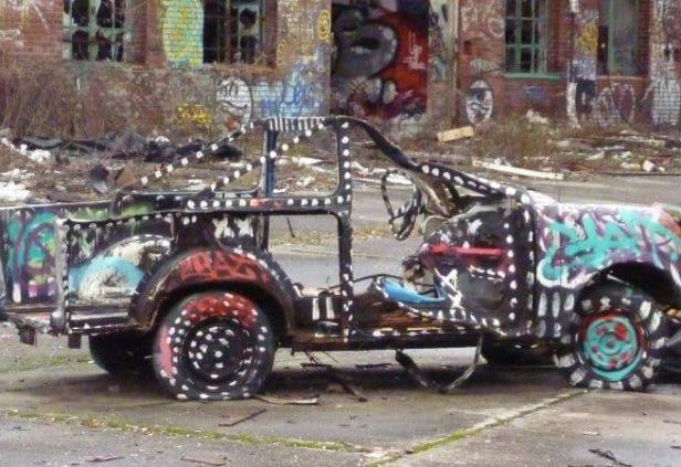 Faire une Urbex entre bière et street art