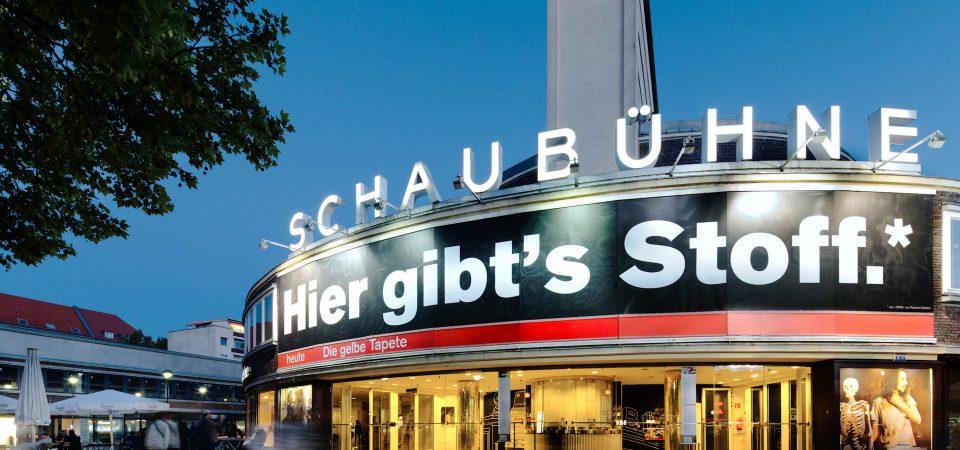 Le théâtre Schaubühne à Berlin