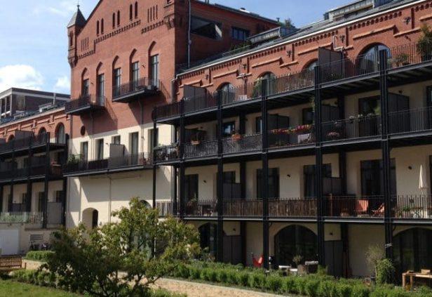 Une ancienne brasserie berlinoise devenue résidentielle
