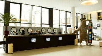Hôtel pas cher Plus Berlin dans le quartier de Friedrichshain