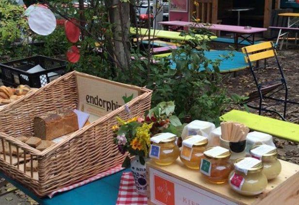 The Food Assembly, marché des producteurs locaux à Berlin