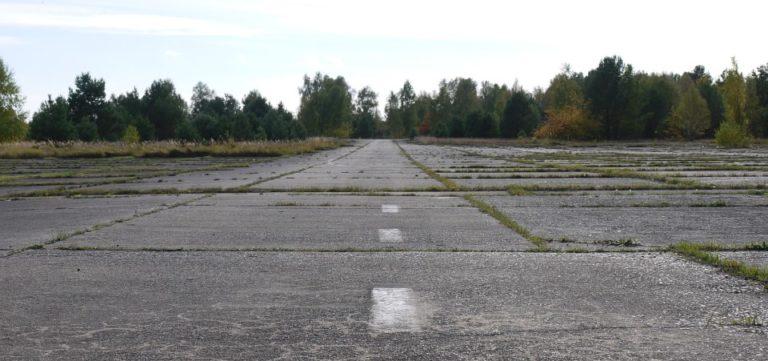 Un aéroport presque abandonné