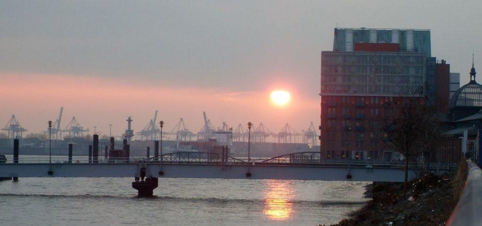 Sous le ciel d'Hambourg