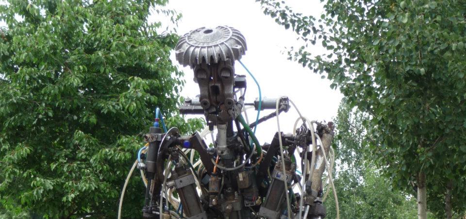 Un robot à Mauerpark