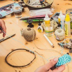 Atelier créatif upcycling