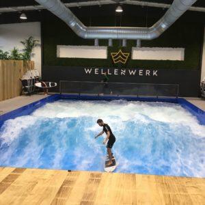 Surf sur vague artificielle à Berlin