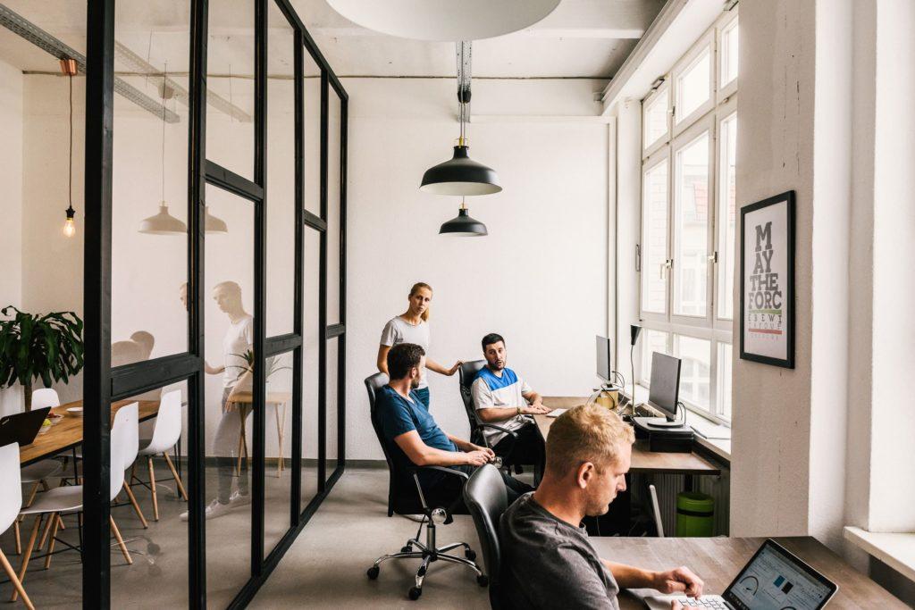 L'espace de coworking Heartspace à Berlin