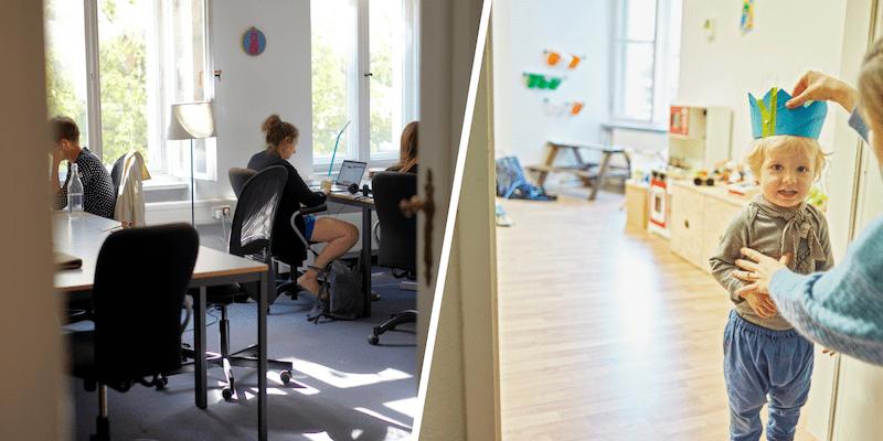 L'espace de coworking JuggleHub à Berlin