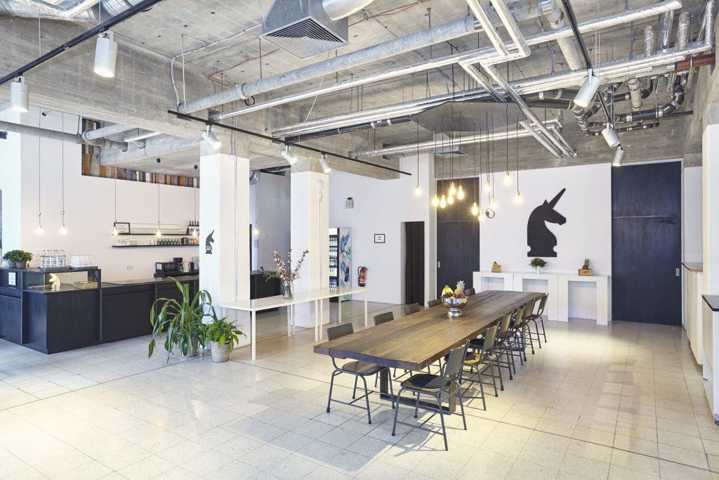 L'espace de coworking Unicorn à Berlin