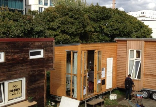 Les Tiny House à Berlin
