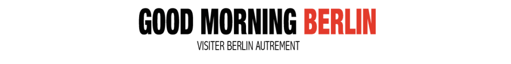 Le logo de Good Morning Berlin, le site pour visiter Berlin autrement