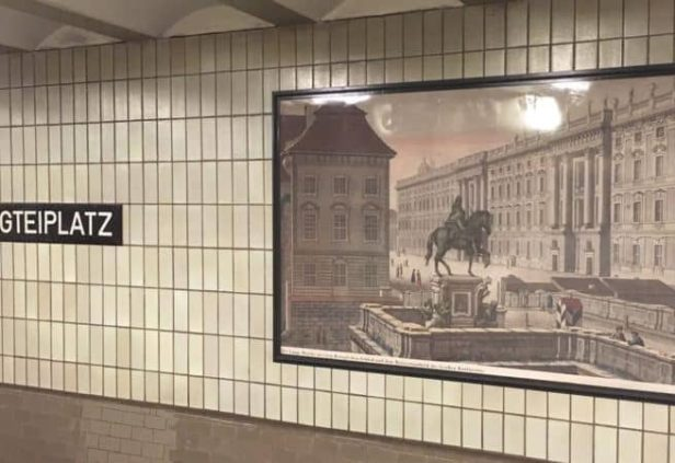 Métro à Berlin