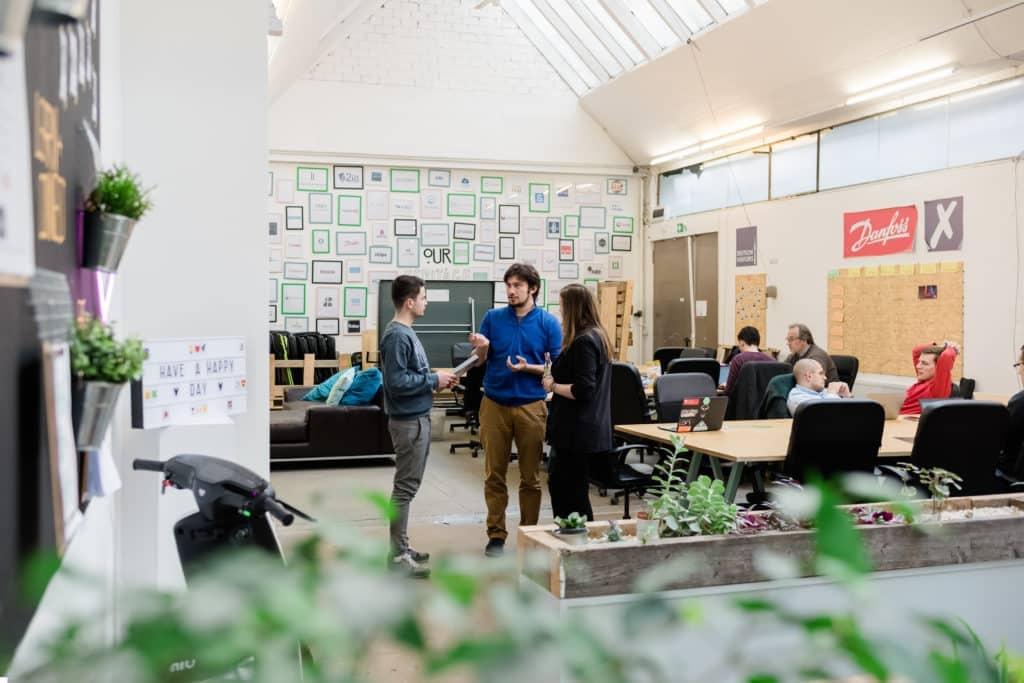 Rencontre professionnelle avec une startup berlinoise