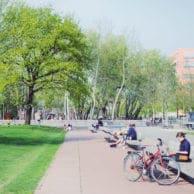 visite en vélo des parcs à Berlin