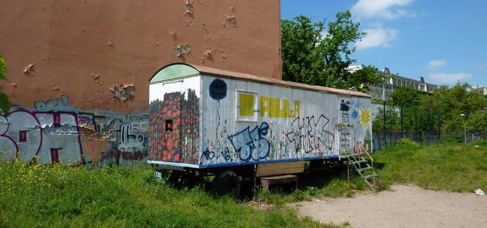 Habiter dans une roulotte berlinoise