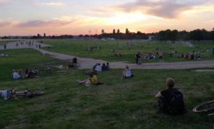 Le fameux aéroport abandonné de Tempelhof à Berlin