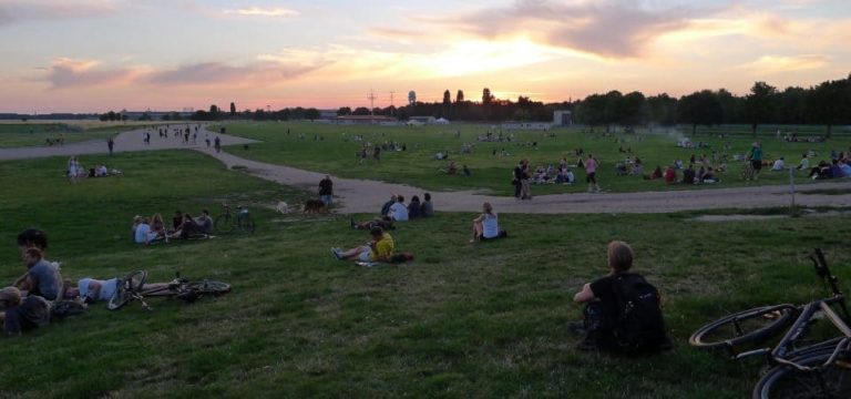 Tempelhof, un air de rivage
