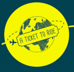 Logo a ticket to ride