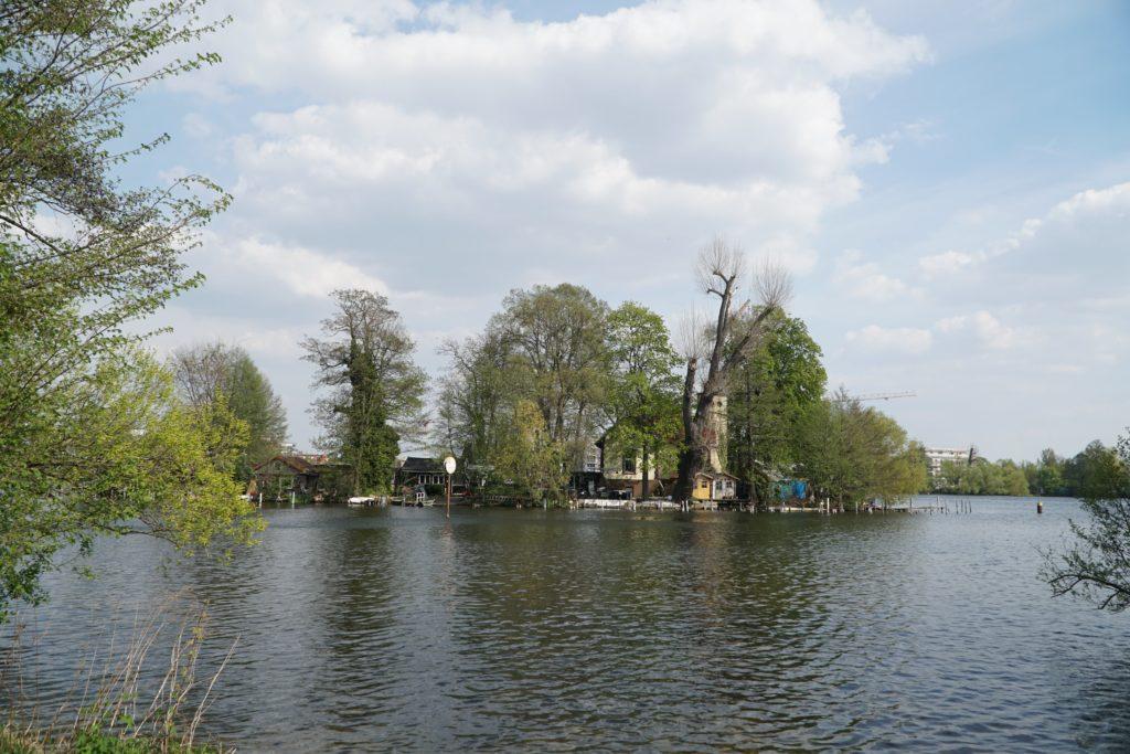Circuit à vélo le long de la Havel