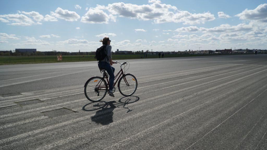 Circuit à vélo à Tempelhof