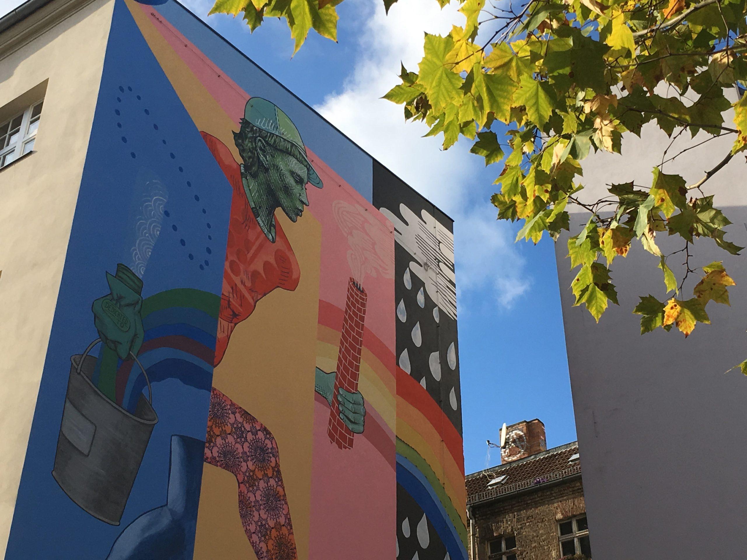 Street Art pour berlinois