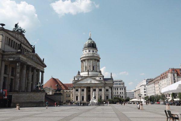 Place Gendarmenmarkt à Berlin