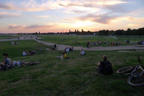 Parc de Tempelhof à Berlin